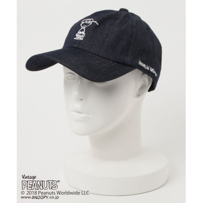 chumchum / PEANUTS / CHARLIE'S FRIEND COLOR DENIM BB CAP MEN 帽子 > キャップ