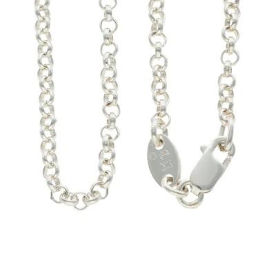 クロムハーツ Chrome Hearts NECKCHAIN R18/ロールチェーン18inch サイズ:18inch シルバーネックレス 中古 SS07