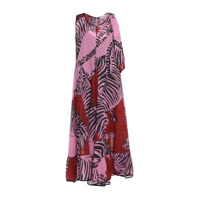 BEATRICE .b ロングワンピース&ドレス ライトパープル 44 コットン 100% ロングワンピース&ドレス