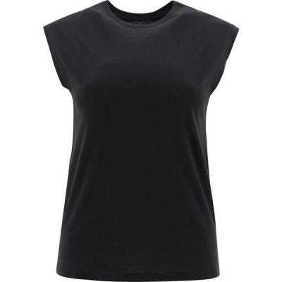"""フレーム Frame レディース Tシャツ トップス """"Le Mid Rise Muscle"""" T-Shirt Black"""