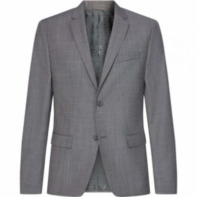 カルバンクライン Calvin Klein Tailoring メンズ スーツ・ジャケット アウター Calv Wool Bld Blz Sn02 Alloy