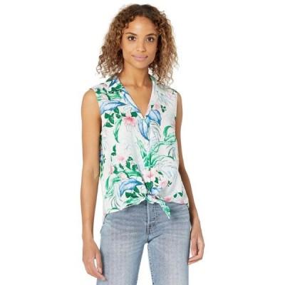 トッミーバハマ レディース シャツ トップス Flora Frond Camp Shirt Sleeveless