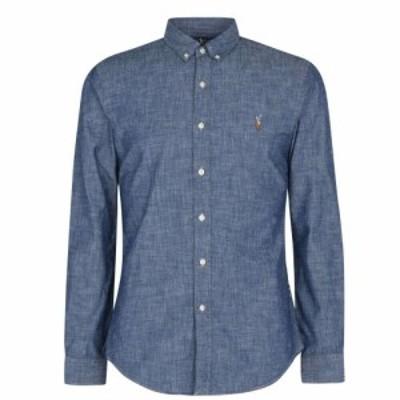 ラルフ ローレン Polo Ralph Lauren メンズ シャツ シャンブレーシャツ トップス Chambray Shirt Dark Indigo