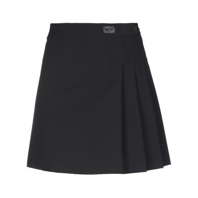 BE BLUMARINE ミニスカート ブラック 38 ポリエステル 88% / ポリウレタン 12% ミニスカート
