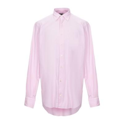 DOMENICO TAGLIENTE シャツ ピンク 44 コットン 96% / ポリウレタン 4% シャツ