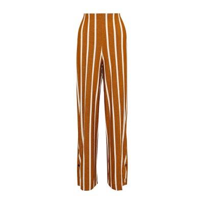 バイ・マレーネ・ビルガー BY MALENE BIRGER パンツ 赤茶色 XL レーヨン 71% / 金属繊維 12% / ナイロン 11% /