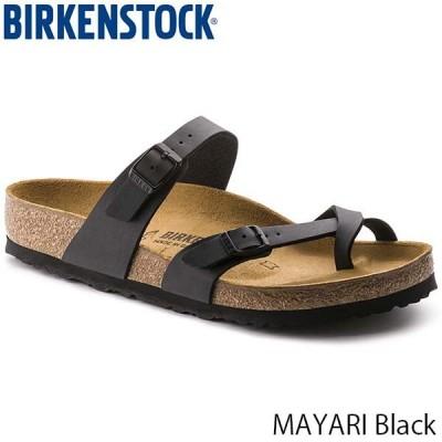 ビルケンシュトック サンダル レディース メンズ マヤリ MAYARI フラット ストラップ おしゃれ 幅広 レギュラー ブラック BIRKENSTOCK GC071791 国内正規品