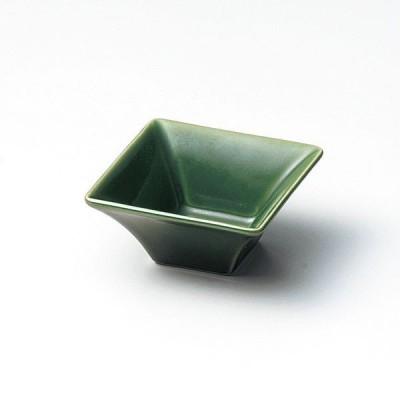 ミニボールセレクション スクエア 角皿 7cm四角ボール 織部 cafe カフェ 食器 業務用 日本製