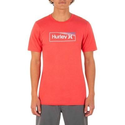 ハーレー メンズ シャツ トップス Hurley Men's One and Only Gradient Push Short Sleeve T-Shirt