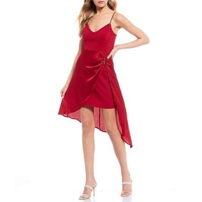 ゲス レディース ワンピース トップス Karin Bodycon Faux-Wrap Dress