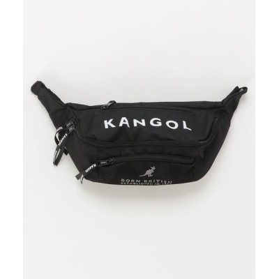 COLLARS / 【KANGOL / カンゴール】 メッシュ ポケット BIGロゴ ボディバッグ MEN バッグ > ボディバッグ/ウエストポーチ