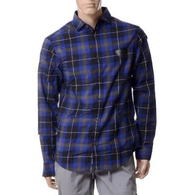 30% OFF アルマーニジーンズ(ARMANI JEANS) チェックシャツ ネイビー