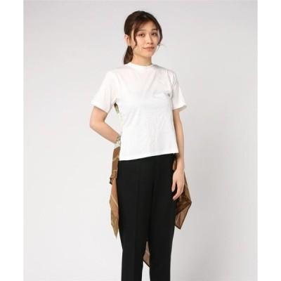 tシャツ Tシャツ 【MAISON MIHARA YASUHIRO】スカーフバックフレアTシャツ/Scarf Back FlareTshirts