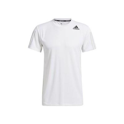 アディダス(adidas) HEAT. RDY 3ストライプス 半袖Tシャツ AS174-GP7656 (メンズ)