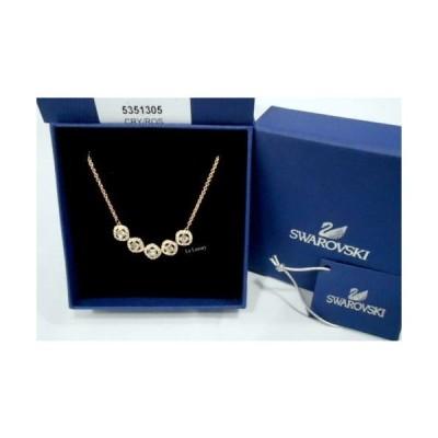 ネックレス スワロフスキー Swarovski Angelic Square Necklace, White ROS Crystal Authentic MIB 5351305
