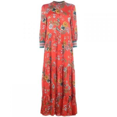 ローリーズ ランドリー Lollys Laundry レディース ワンピース マキシ丈 ワンピース・ドレス Lollys Nee Maxi Dress RED