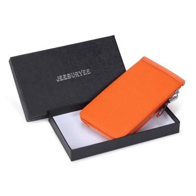 JEEBURYEE カードケース 長財布 薄型 メンズ レディース 財布 磁気防止 大容量 カード26枚 収納 カード入れ 本革 革 人気