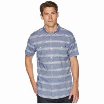 リップカール 半袖シャツ Clubber Short Sleeve Shirt Navy
