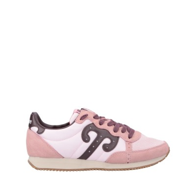 WUSHU SHOES スニーカー&テニスシューズ(ローカット) ピンク 36 革 / 紡績繊維 スニーカー&テニスシューズ(ローカット)