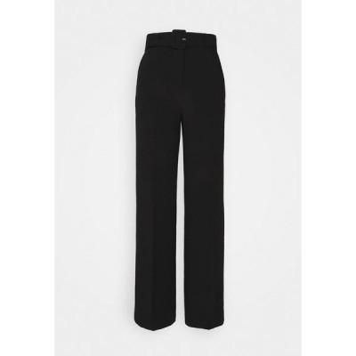 セカンド デイ カジュアルパンツ レディース ボトムス LEONARDO - Trousers - black