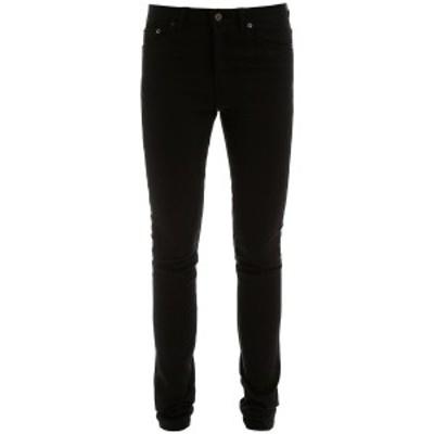 SAINT LAURENT PARIS/イヴ サンローラン Black Saint laurent skinny jeans レディース 春夏2020 527379 YO500 ik