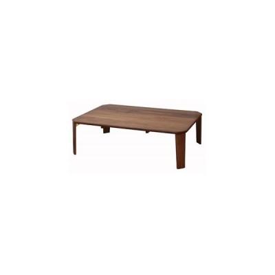 ds-2330457 テーブル 105 ブラウン 〔幅105×奥行75cm〕 【完成品】【代引不可】 (ds2330457)