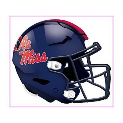 【送料無料】Fan Creations NCAA Mississippi Old Miss Rebels Unisex Ole Miss Authentic Helmet, Team Color, 12 inch【並行輸入品】