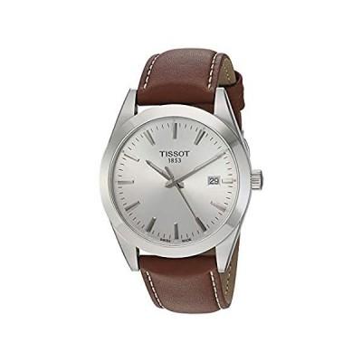 [ティソ] 腕時計 TISSOT ジェントルマン クォーツ T1274101603100 メンズ ブラウン