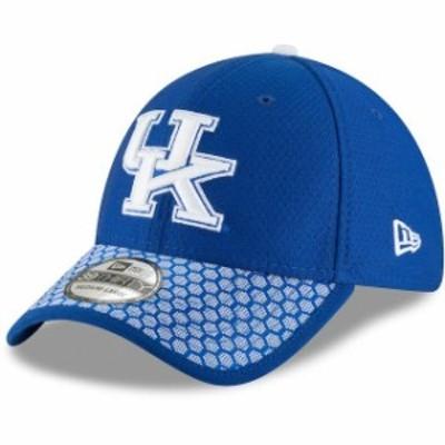 New Era ニュー エラ スポーツ用品  New Era Kentucky Wildcats Royal Sideline 39THIRTY Flex Hat