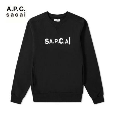A.P.C. sacai アーペーセー サカイ sweat tani COEON M27656 LZZ / PLB スウェット フリース apc0042