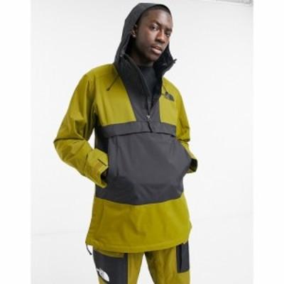 ザ ノースフェイス The North Face メンズ スキー・スノーボード アノラック ジャケット アウター Silvani ski anorak jacket in green