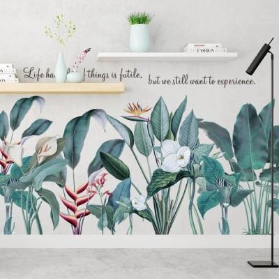 borovice 送料無料 新品 no.36 ウォールステッカー 北欧 鑑賞 植物 DIY 壁飾り インテリアシート 剥がせるシール