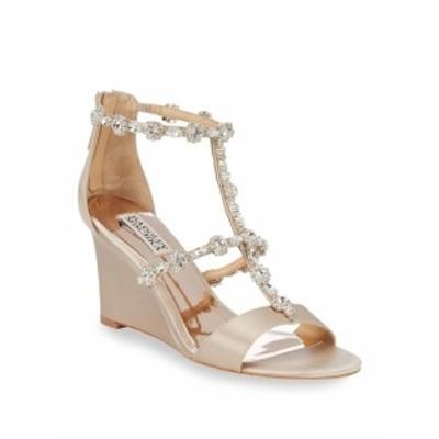 バッジリーミシュカ レディース シューズ サンダル Bejewled Metallic Sandals