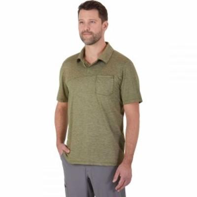 アウトドアリサーチ Outdoor Research メンズ ポロシャツ トップス Chain Reaction Polo Shirt Fatigue Heather