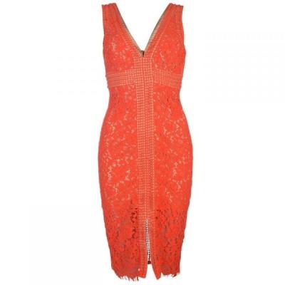 バルドー Bardot レディース ワンピース ワンピース・ドレス Lace Dress FLAME ORANGE