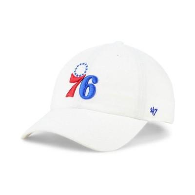 47ブランド メンズ 帽子 アクセサリー Philadelphia 76ers CLEAN UP Cap