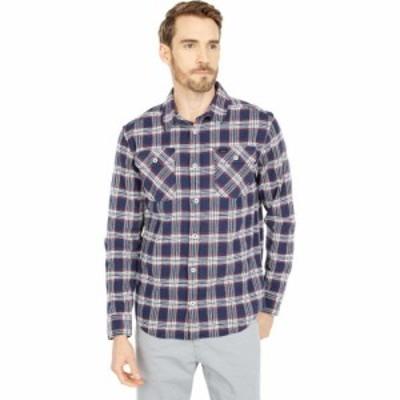 ルーカ RVCA メンズ シャツ トップス Thatll Work Flannel Long Sleeve Moody Blue