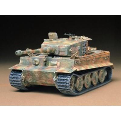 タミヤ 1/35 MM [35146] ドイツ重戦車 タイガーI型 (後期生産型) 【ミリタリーミニチュアシリーズ No.146】