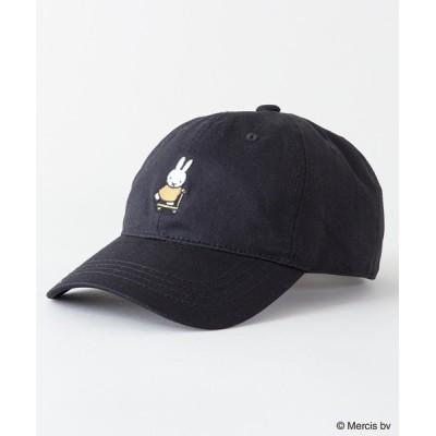 JEANS MATE / 【MIFFY/ミッフィー】ワンポイント刺繍 ツイルキャップ WOMEN 帽子 > キャップ