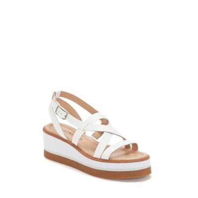 ラッキーブランド レディース サンダル シューズ Women's Ticey Strappy Wedge Platform Sandals