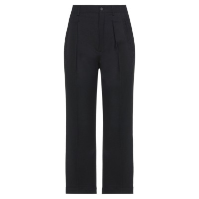 SAINT LAURENT パンツ ブラック 38 バージンウール 100% パンツ