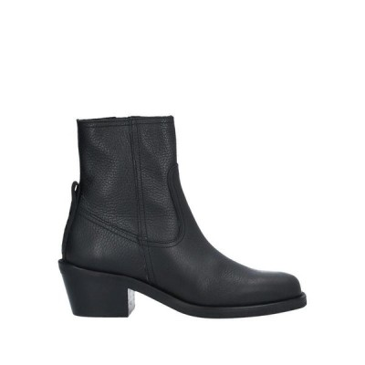 67 SIXTYSEVEN ショートブーツ ファッション  レディースファッション  レディースシューズ  ブーツ  その他ブーツ ブラック