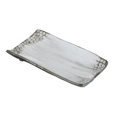 長角皿 9.0焼き物皿 三島 29.1cm 和食器 業務用 美濃焼 9b146-15