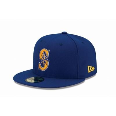 ニューエラ(NEW ERA) 59FIFTY MLB オンフィールド シアトル・マリナーズ オルタネイト2 11449341