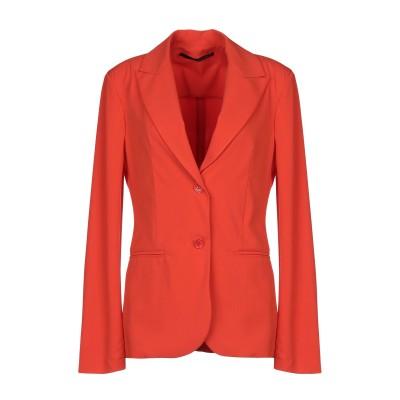 アンナリータ エンネ ANNARITA N テーラードジャケット オレンジ 42 ポリエステル 95% / ポリウレタン 5% テーラードジャケット