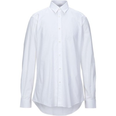 LHU アーバン LHU URBAN メンズ シャツ トップス Solid Color Shirt White