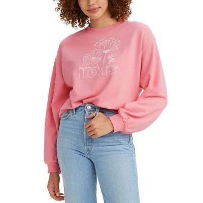リーバイス レディース シャツ トップス Graphic Print Sweatshirt