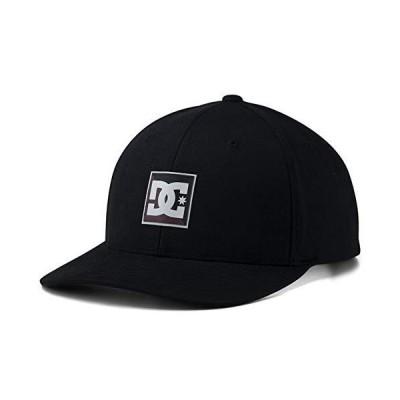 DC シューズ ボックス スター スナップバック 帽子 ブラック