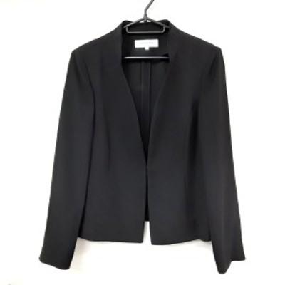 カルヴェン CARVEN ジャケット サイズ14 XL レディース 美品 黒 formal【中古】20210326