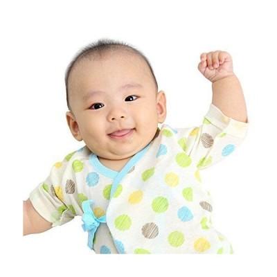 新生児 肌着セット ベビー 赤ちゃん 肌着 服 4枚セット 短肌着 50-60cm コンビ肌着 50-70cmオーガニックコットン 綿100